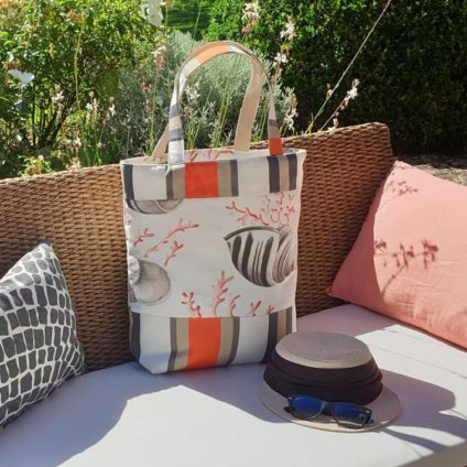 SAC PLAGE-  CORAIL et COQUILLAGES