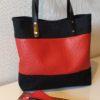LARA - sac rouge et noir