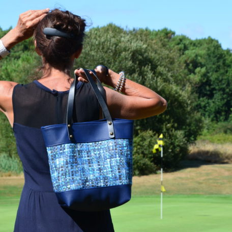 LUANA sac golf bleu