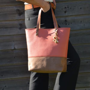 SIENNA sac orange cuivré